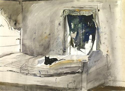 Andrew Wyeth, Christina's Bedroom, 1947.