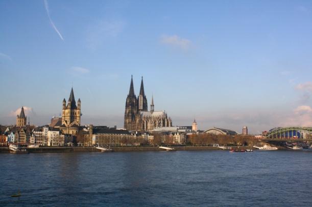 Rhein/rhine in Köln/Cologne