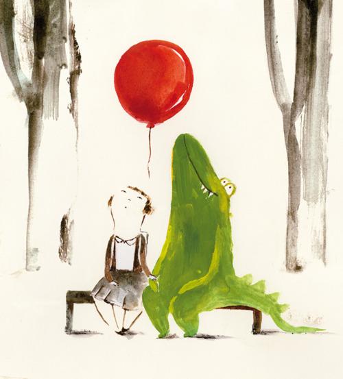 Patricia Meteola, Crocodile balloon
