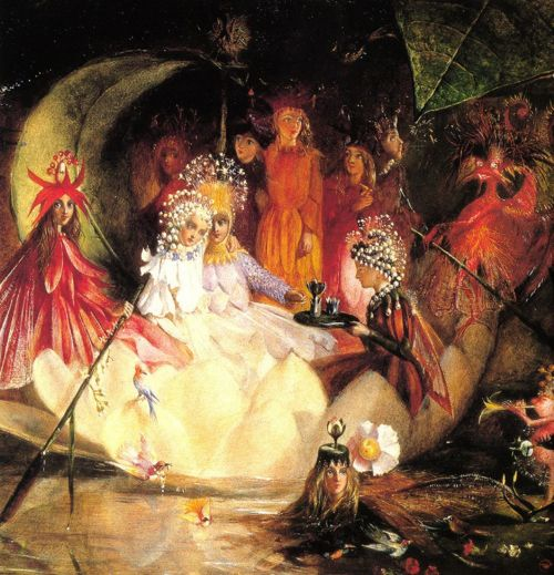 John Anster Fitzgerald, The Marriage of Oberon and Titania