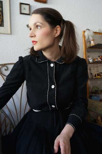 Re-fashioned blouse