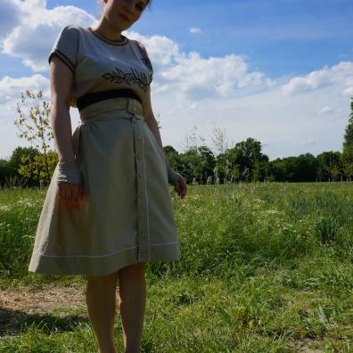 Zickzack-Rock // Ric-Rac-skirt