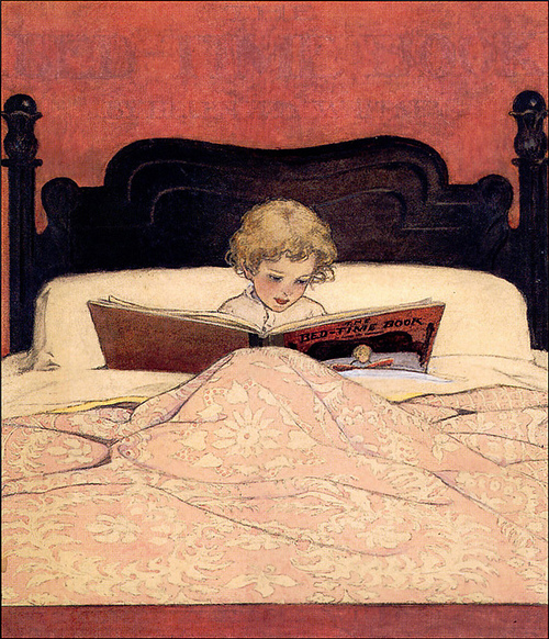 hoodoothatvoodoo-Jessica Willcox Smith'The Bed-Time Book'1907