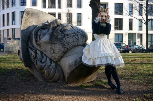 Karnevalskaninchen//Carnival Bunny