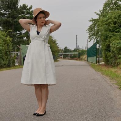 Burda wrap dress